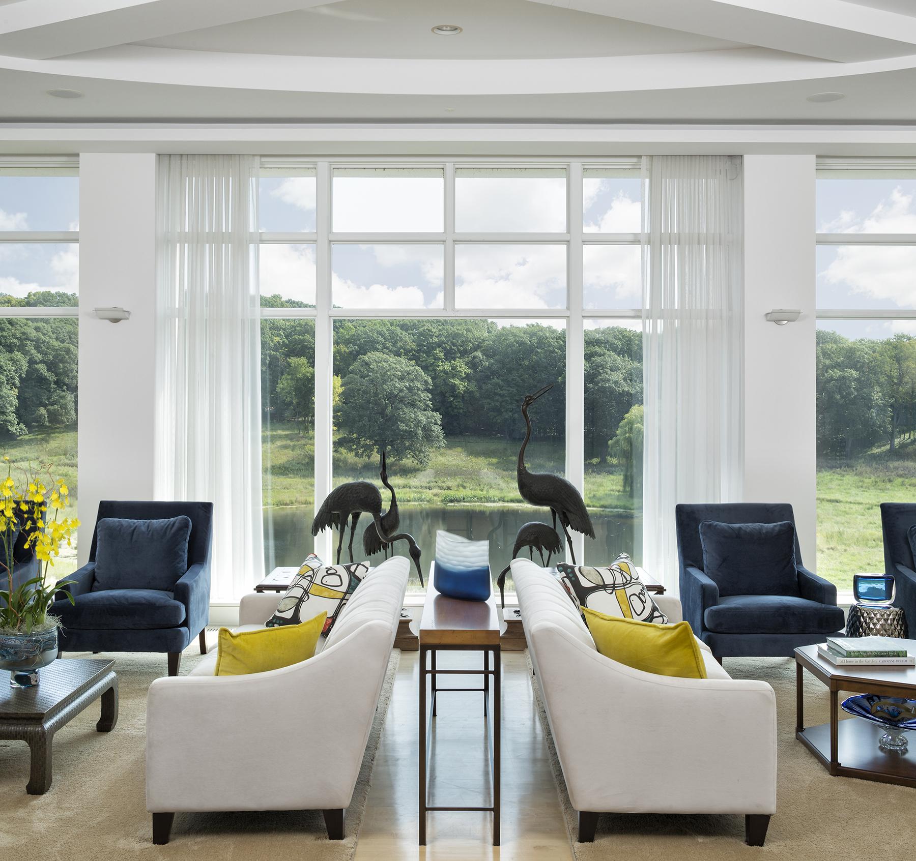 Noble Interiors - Wooded Hilltop | Minneapolis Interior Design
