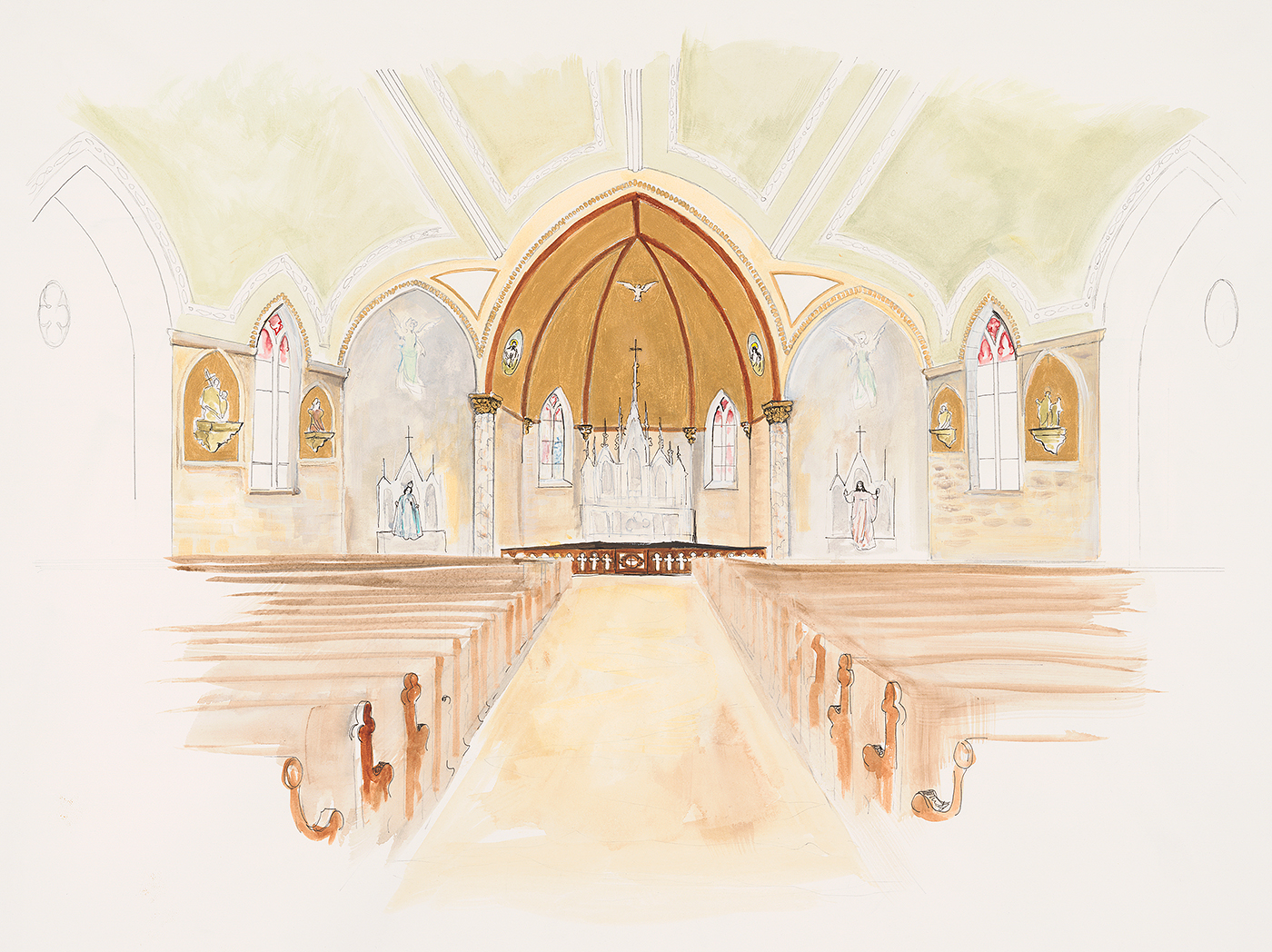 proposal st peter and st paul church renovation